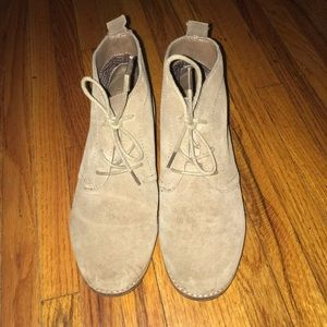 White Mountain Suede Boots. Size 7